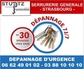 La société STURTZ, experte en dépannage serrurerie à Strasbourg